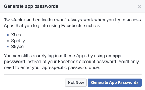 BeCyberSafe com   How To Secure Your Facebook Account